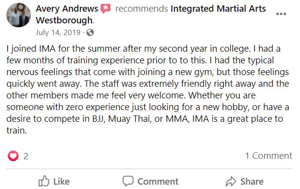 Adult4, Integrated Martial Arts
